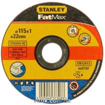 Диск отрезной по металлу STANLEY Ø=115х22 мм h=1 мм