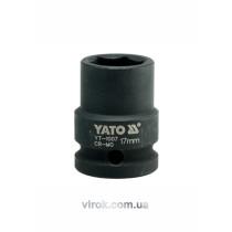 """Головка торцевая ударная шестигранная YATO 1/2"""" М17 х 39 мм"""