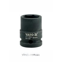 """Головка торцевая ударная шестигранная YATO 1/2"""" M19 х 39 мм"""