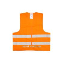 Жилет сигнальный VOREL оранжевый, размер XXXL