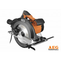 Пила дискова ручна мережева AEG : 1.2 кВт, диск Ø=190/30 мм, нахил- 51°, глиб. різу- 62/47 мм-90/45°
