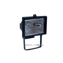 Прожектор галоген. настінний, 150 W чорний