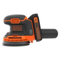 Эксцентриковая аккумуляторная шлифмашина Black+Decker BDCROS18