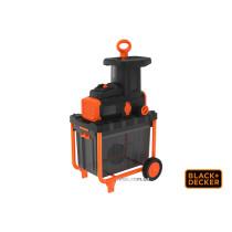 Измельчитель садовый Black+Decker 2800 Вт для веток Ø45 мм