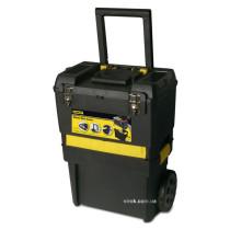 """Ящик для инструментов на колесах пластиковый STANLEY """"Rolling Workshop"""" 47 x 29.7 x 62 см 2 секции с телескопической ручкой"""
