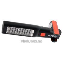 Светильник аккумуляторный YATO Li-Ion 3.7 В 1.8 Ач 30/7 LED + зарядное устройство