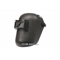 Щиток сварщика VOREL с держателем на голове и защитным стеклом 108 х 50 мм
