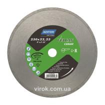 Диск алмазний VULCAN TILE по керамічній плитці: Ø= 230/ 22.23 мм