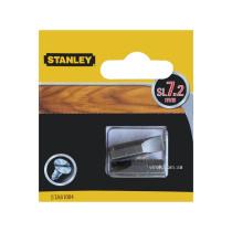 Насадка отверточная STANLEY плоская SL7 х 25 мм 2 шт
