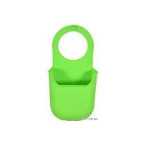 Органайзер для губки подвесной силиконовый зеленый FALA 200 х 100 мм