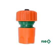 """Муфта швидкоз'ємна FLO з водо-стопом для водяного шланга 3/4"""""""