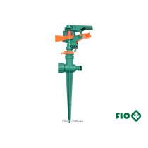 """Зрошувач імпульсний 6-режимний FLO на кілку, до шлангу 1/2"""", оберт- 45°-360°, ABS-пластик"""