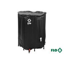 """Сборной бак дождевой воды с ПВХ FLO 500 л Ø3/4"""" Ø80 x 98 см стойкий к УФ лучей"""