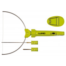 Термонож для пенопласта сетевой LUND 9 Вт с 3 режущими насадками
