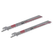 Полотно для сабельной пилы для фигурного реза AEG 6-100 мм 150 мм крок зубов 4.2 мм 2 шт