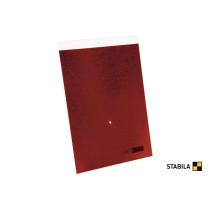Відбивна пластина STABILA : 29 х 21 см, для збільшення вимірювальної відстані лазерних вимірювачів