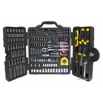 Набір інструментів STANLEY в розкладному футлярі 210 шт