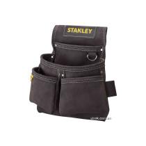 Карманы на пояс замшевые STANLEY 2 для инструментов и 2 для гвоздей