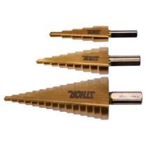 Сверла конические ступенчатые по металлу STHOR 4-32 мм HSS 4241 3 шт