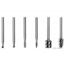 Набор фрез по металлу для минишлифмашины STHOR HSS 3.2 мм 6 шт