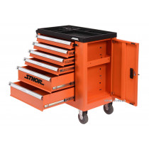 Шафа для майстернь STHOR на колесах, 900х 840х 460 мм з 6 шуфлядами та інструментами, 184 шт