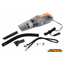 Пылесос автомобильный STHOR 12 В 80 Вт фильтр HEPA с компрессором 120 Вт 1 Мпа 20 л/мин + сумка