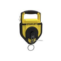 Шнур для розмітки STANLEY : L= 45 м, вміст крейди m= 450 г, пластиковий корпус