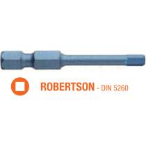 Насадка отверточная ударная BLUE SHOCK USH TORSION ROBERTSON R3 x 50 мм 5 шт