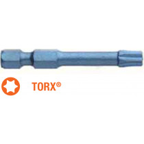 Насадка викруткова ударна BLUE SHOCK USH : Torx T25 x TORSION 50 мм, Уп. 5 шт.