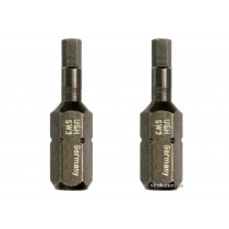 """Насадка отверточная USH 1/4"""" HEX 4 х 25 мм 2 шт"""