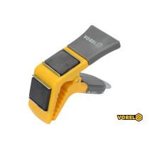 Держатель для кисти магнитный VOREL 90 мм пластиковая ручка пружинный зажим