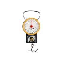 Весы ручные подвесные пружинные VOREL до 32 кг с рулеткой 1 м и циферблатом