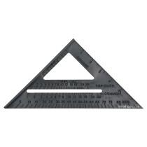 Угольник плотницкий VOREL 180 мм 90° х 45° х 45°