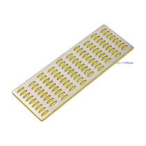 Брусок абразивный алмазный для заточки VOREL 150 х 50 х 4 мм с грануляцией G400