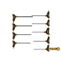 Набір ключів TORX Т-подібних VOREL Т10-T50 100-200 мм 9 шт