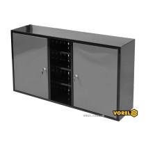 Шкаф настенный для мастерской VOREL 1125 х 265 х 630 мм с лакированной жести 0.8-1 мм