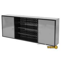 Шкаф настенный для мастерской VOREL 1580 х 265 х 630 мм с лакированной жести 0.8-1 мм