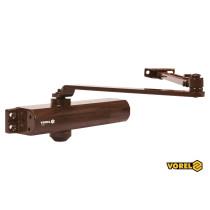 Доводчик дверей механический VOREL 25-85 кг 180° 248 х 42 х 52 мм