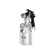Пульверизатор VOREL HVLP 1.8 мм с нижним баком 1 л 3-4 bar