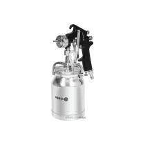 Пульверизатор HVLP VOREL з нижнім бачком V= 1л, роб. тиск = 3-4 bar, сопло Ø= 1,8 мм