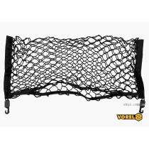 Сетка-органайзер для багажника авто полипропиленовая VOREL с 2 крючками 70 х 30 см