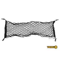 Сетка-органайзер для багажника авто полипропиленовая VOREL с 4 крючками 90 х 30 см
