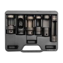 """Набор насадок для форсунков в дизельный двигатель YATO 1/2"""" 6 шт"""