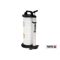 Насос ручной для откачки масла YATO 9 л 3 зонда