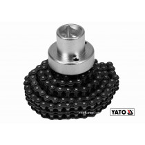 """Съемник масляного фильтра цепной YATO 1/2"""" 75-170 мм Cr-V"""