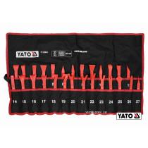 Съемники для демонтажа обивки автомобильного салона YATO нейлон 27 шт