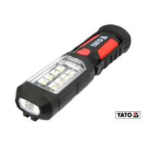 Фонарь навесной светодиодный YATO 8+1 LED 280 лм 3 x АА