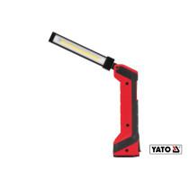 Лампа светодиодная аккумуляторная YATO Li-Ion 3.7 В 2.2 Ач 5+1 Вт 500/250+40 лм