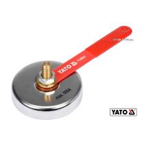 Магнитный сварочный зажим массы YATO 85 мм 7 кг для тока 500 А