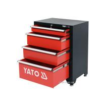 Шафа для майстерні YATO : 4 шуфляди, 660 x 457 x 863 мм